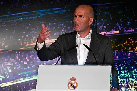 """Zidane: """"Había que hacer un cambio"""""""