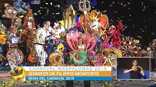 Gala de la Reina Infantil del Carnaval de Maspalomas - 16/03/2019