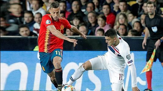 UEFA. Clasificación Eurocopa 2020: España - Noruega