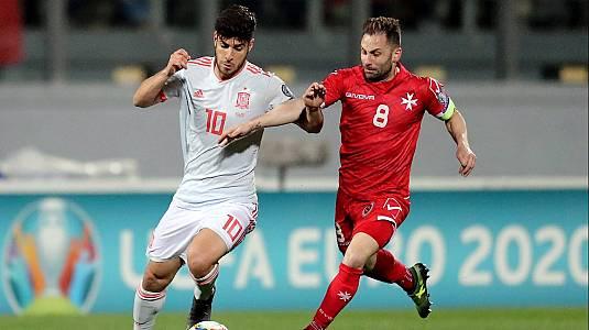 UEFA. Clasificación Eurocopa 2020: Malta - España