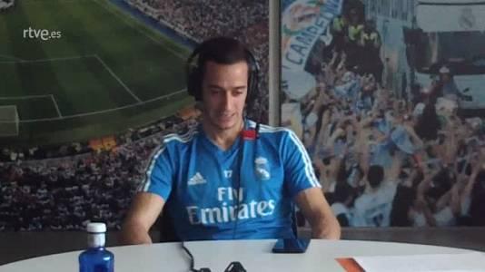 """Lucas Vázquez ve favorito para la Champions al Liverpool y el Barça no le """"gustaría que ganara"""""""