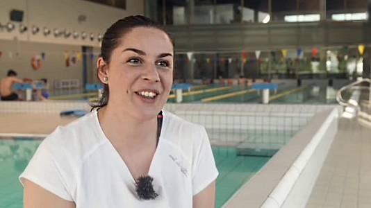 Triatlón: Carmen Crespo (entrenadora)
