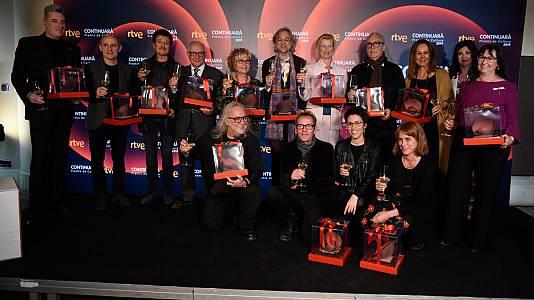 RTVE Catalunya lliura els Premis Continuarà de cultura 2019