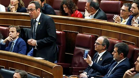 """""""Presos políticos"""", """"por España"""" y """"por los derechos sociales"""": las promesas y juramentos que hicieron retumbar el Congreso"""