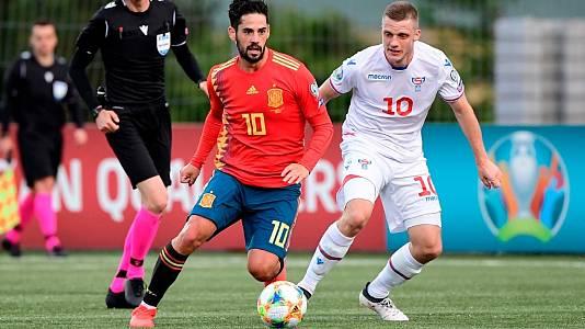 Partido Clasificación Eurocopa 2020: Islas Feroe - España