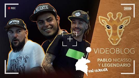 Mira ya el programa 14 con Pablo Nicasso y Legendario