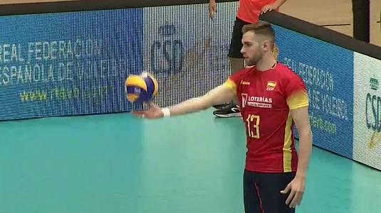 Liga Europea Masculina 2018/2019: España - Croacia