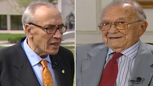 Santiago Carrillo y Gregorio Peces Barba