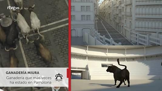 Los toros de los Sanfermines