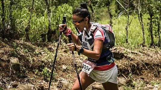 Maigualida Ojeda triunfadora de Ultramarathon de Costa Rica