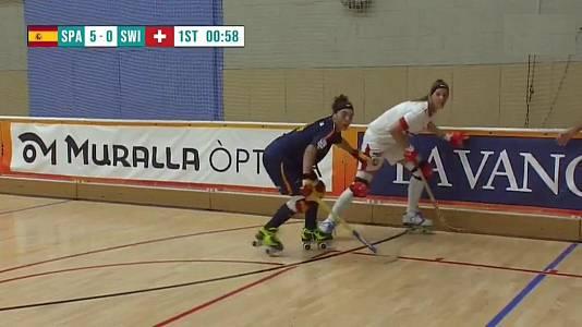 World Roller Games femenino: España - Suiza