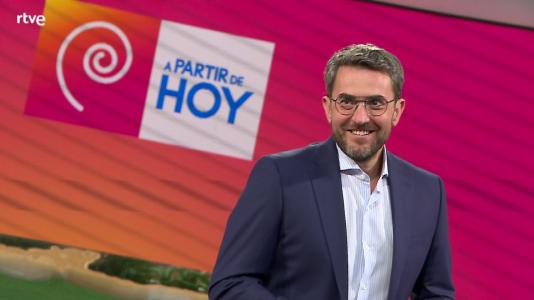 La 1 estrena 'A partir de hoy', con Máximo Huerta