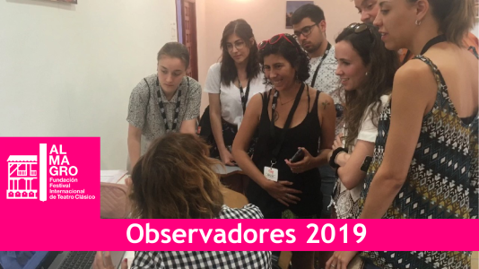 Alumnas de la UAB participan como observadoras en Almagro