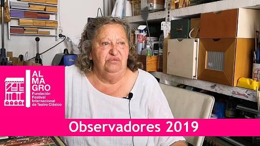Luz Palacio, una artista única en Almagro