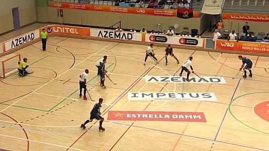 World Roller Games masculino: Angola - España