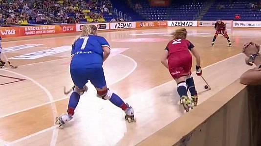 World Roller Games. Semifinal femenina: Italia - España