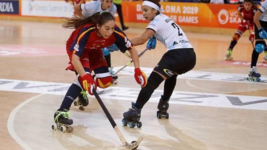World Roller Games. Final femenina: Argentina - España