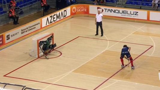 World Roller Games. Final masculina: Francia - España