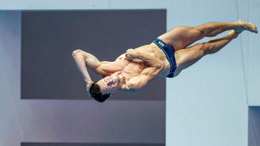 Saltos: Final 3m masculinos