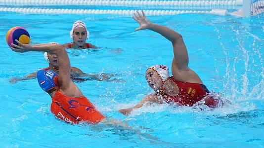 Waterpolo Femenino 1/4 de Final : España - Holanda