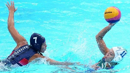 Waterpolo Femenino 1/4 de Final : Italia - Hungría