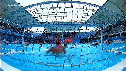 Waterpolo Maculino 1/4 de Final: Serbia - España