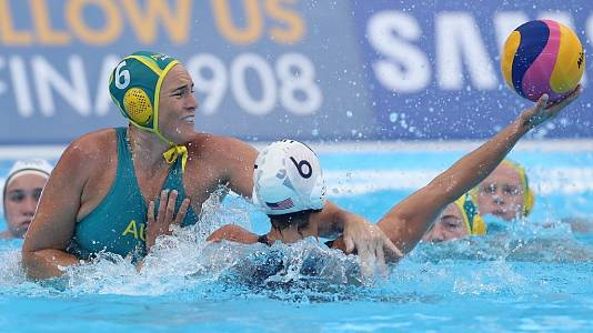 Waterpolo Femenino  1ª Semifinal: EE.UU. - Australia