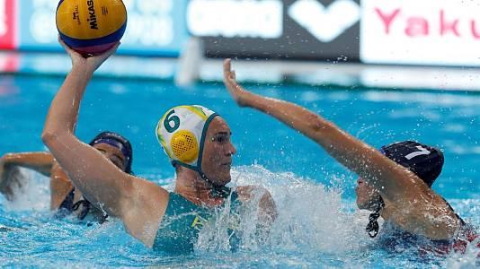 Waterpolo Femenino 3º-4º puesto: Australia - Hungría
