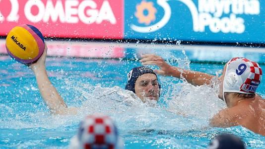 Waterpolo Masculino 3º-4º puesto: Croacia - Hungría
