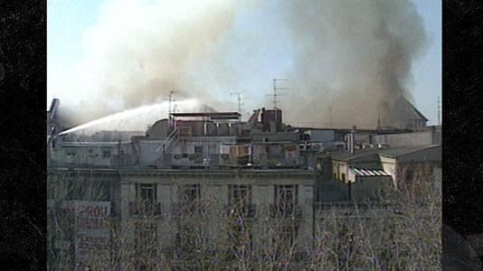 Àngel Cases recorda l'incendi del Liceu