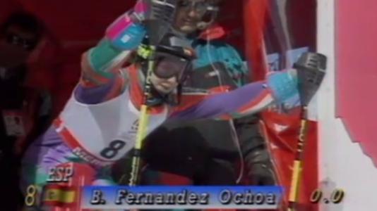 Olimpiada de Albertville - Blanca Fernández Ochoa gana la medalla de bronce