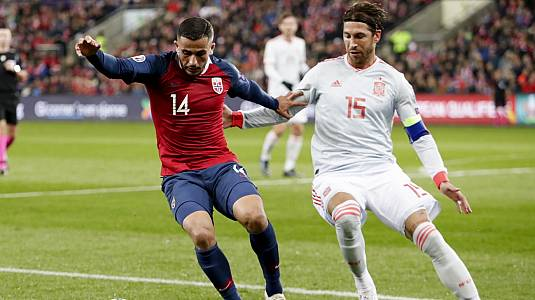 Selección clasificatorio EUROCOPA 2020: Noruega - España