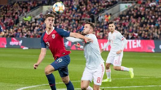 Programa Clasif. Eurocopa 2020 Postpartido: Noruega - España