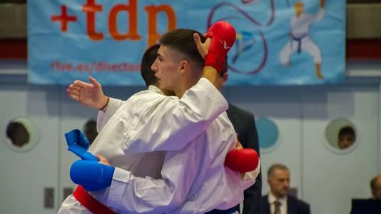 Segunda ronda de la Liga nacional cadete y senior de kárate. 12 de octubre de 2019