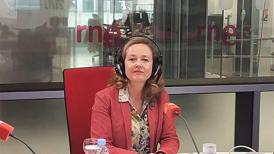 Nadia Calviño descarta una recesión a corto plazo