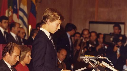 """Primer discurso del Príncipe de Asturias en los Premios """"Príncipe de Asturias"""""""