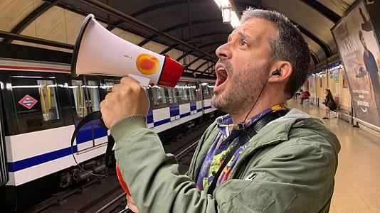 Hoy Empieza Todo con Ángel Carmona desde el Metro de Madrid