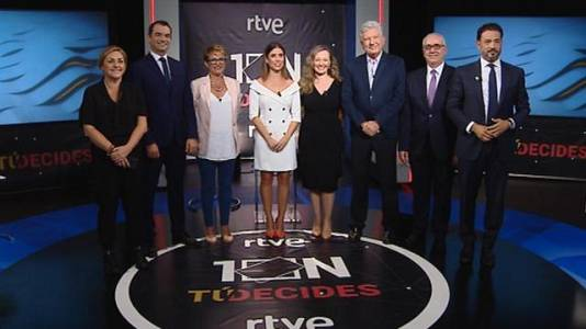 El Debate de la 1 Canarias Especial Eleciones - 07/11/2019