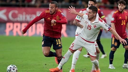 UEFA. Clasificación Eurocopa 2020: España - Malta