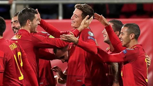 Programa Clasif. Eurocopa 2020 Postpartido: España - Malta
