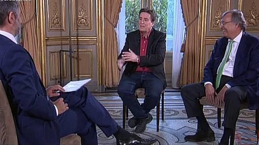 Luis García Montero y Antonio Pérez-Hernández Torra