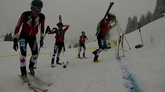 Road to Lausanne 2020. Jóvenes promesas del esquí de montaña