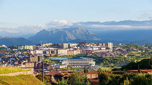 Oviedo, música del agua