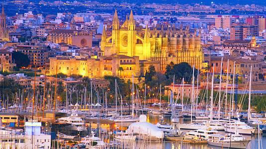 Palma de Mallorca, ciudad en azul