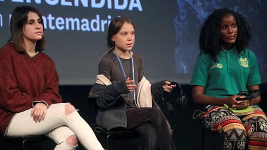 Rueda de prensa íntegra de Greta Thunberg en la Casa Encendida de Madrid