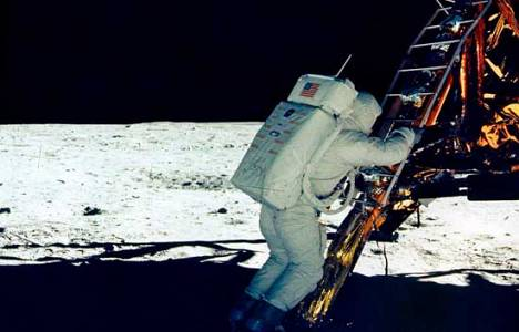 40 años viaje hombre a la Luna