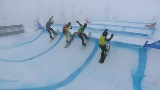 Copa del mundo Finales Snowboardcross. Prueba Big White