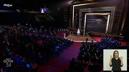 34 Edición Premios Goya en lengua de signos (Parte 1 de 2)