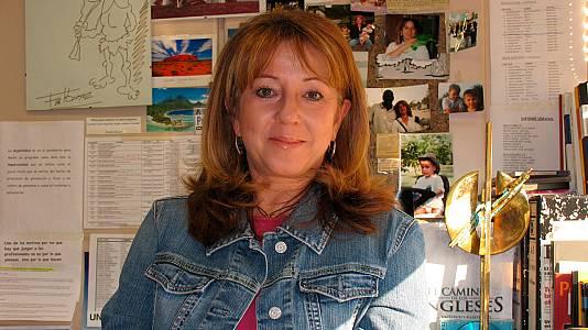 Alicia G. Montano en fotos de su carrera en RTVE