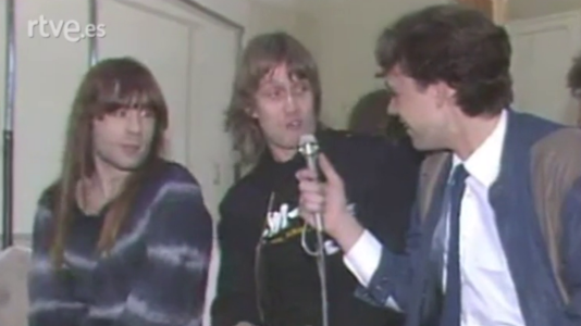 Visita de Iron Maiden (6/3/1984)